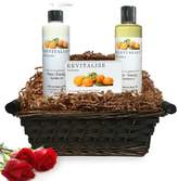 Pure Energy Apothecary Daily Delight Satsuma Gift Set with Basket