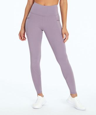 "Ash Marika Women's Active Pants PURPLE - 27"" Purple Opatek Gear-Up Side-Pocket Compression Leggings - Women"