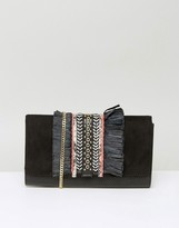 Miss KG Hula Black Clutch Bag