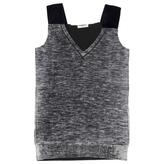 Prada Grey Wool Top