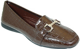 Brown Link Loafer