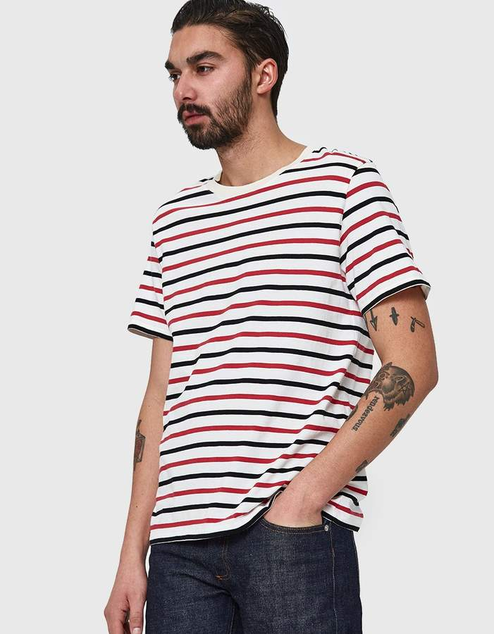 Maison Margiela Cotton Jersey T-Shirt 3-Pack Multi Stripe