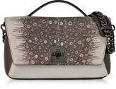 Akris Reptile Leather Anouk Day Bag w/Detachable Chain