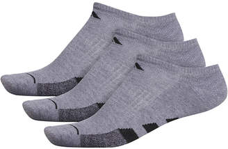 adidas Men 3-Pk. Cushioned No-Show Socks