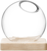 LSA International Axis Vase & Ash Base - Clear - Small