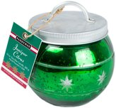 Paddywax Holiday Trimmings Glass Candle - Green Juniper Citrus - 10 oz