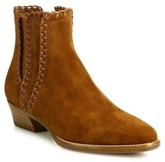 MICHAEL Michael Kors Presley Whipstitch Suede Chelsea Boots