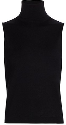 The Row Becca Cashmere & Silk Sleeveless Knit Top