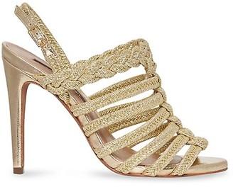 BCBGMAXAZRIA Ana Leather Sandals