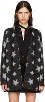 Saint Laurent Black Oversized Star Cardigan
