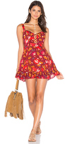 Free People Lattice Lovers Slip Dress