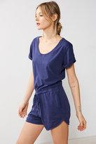Bdg Cuffed Knit T-shirt Playsuit