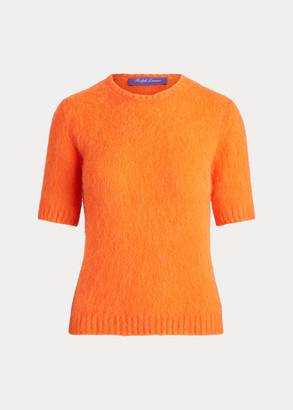 Ralph Lauren Knit Short-Sleeve Sweater