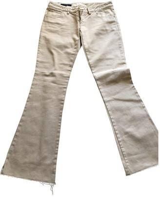 Gucci Beige Cotton Jeans