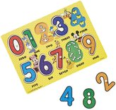Melissa & Doug Mickey Mouse Clubhouse Wooden Numbers Peg Puzzle Puzzle