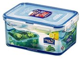 Lock & Lock Rectangular Storage Container, 1.1 L - Clear/Blue