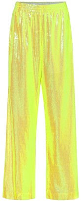 MM6 MAISON MARGIELA Sequined wide-leg pants