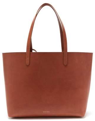 Mansur Gavriel Large Leather Tote Bag - Womens - Tan