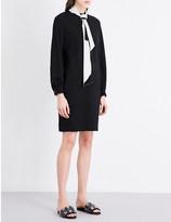 Lanvin Tie-neck wool dress