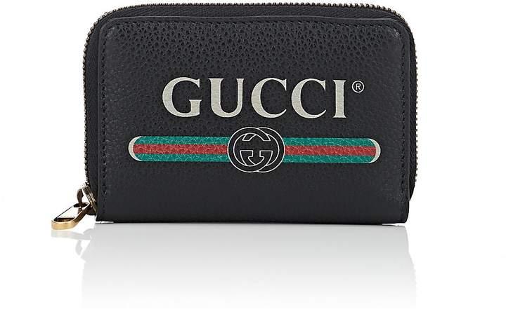 Gucci Men's Leather Zip-Around Card Case