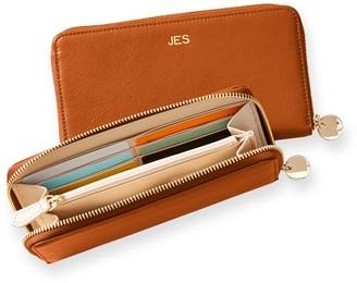 Mark & Graham The Essential Leather Wallet, Foil Debossed