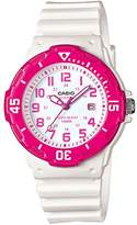 Casio LRW200H – Watch For Women (Quartz, Analogue, Silicone Strap), White