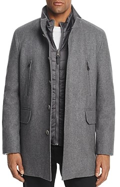 Cole Haan Melton Three-In-One Topper Coat