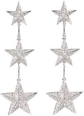 Oscar de la Renta Embellished earrings
