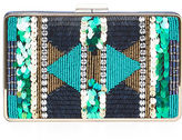 BCBGMAXAZRIA Sonia Beaded Sequined Clutch