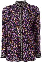Versace floral print shirt - women - Silk - 40