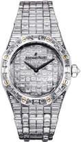 Audemars Piguet Royal Oak Diamond Pave White Gold Ladies Watch