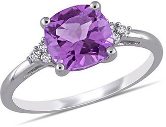 Rina Limor Fine Jewelry 10K 1.81 Ct. Tw. Diamond & Amethyst Ring