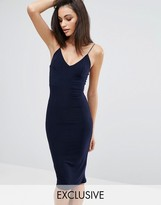 Club L Midi Dress with Cami Strap