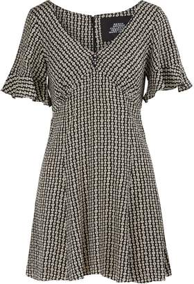 Marc Jacobs Short-sleeved silk dress