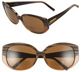Corinne McCormack Women's 'Liz' 61Mm Reading Sunglasses - Cognac