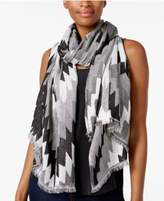 INC International Concepts Zigzag Wrap & Scarf in One, Created for Macy's