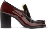 Acne Studios Kenia two-tone patent-leather pumps