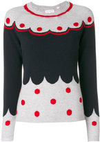 Chinti and Parker patterned cashmere knit sweater - women - Cashmere - XS