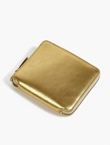 Comme Des Garcons Wallet Gold Classic Leather Wallet
