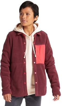 Burton Hearth Snap-Up Fleece Jacket - Women's