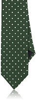Barneys New York MEN'S DOTTED SILK FAILLE NECKTIE