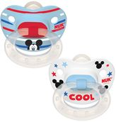 NUK Disney's Mickey Mouse 0-6 Months 2-pk. Orthodontic Pacifiers