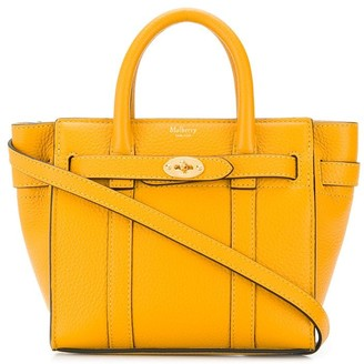 Mulberry micro zipped Bayswater small