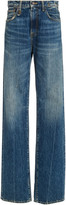 R 13 Colleen High-Rise Flared Jeans