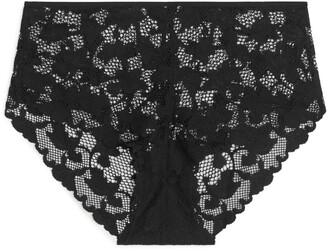 Arket High-Waist Lace Briefs
