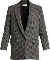 Etoile Isabel Marant Ice hound's-tooth wool-blend jacket
