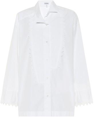 Loewe Cotton-poplin shirt