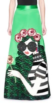 Alice + Olivia 'Ursula' embellished Stace Face satin ball gown skirt
