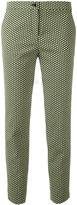 Etro jacquard cropped trousers - women - Cotton/Polyamide/Polyester/Spandex/Elastane - 42