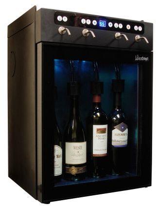 Sur La Table Vinotemp 4-Bottle Wine Dispenser